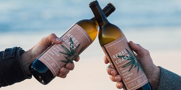 The World's First Cannabis-infused, Alcohol-free Wine Is Here photo