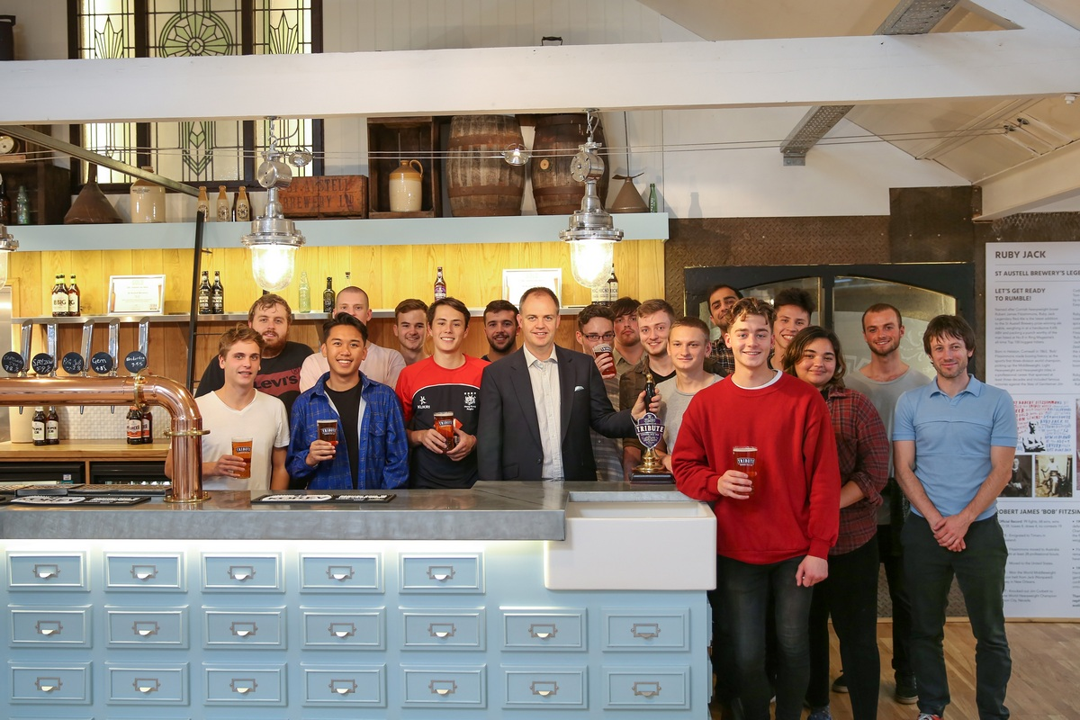 St Austell Brewery Challenge For Falmouth University Design Students photo