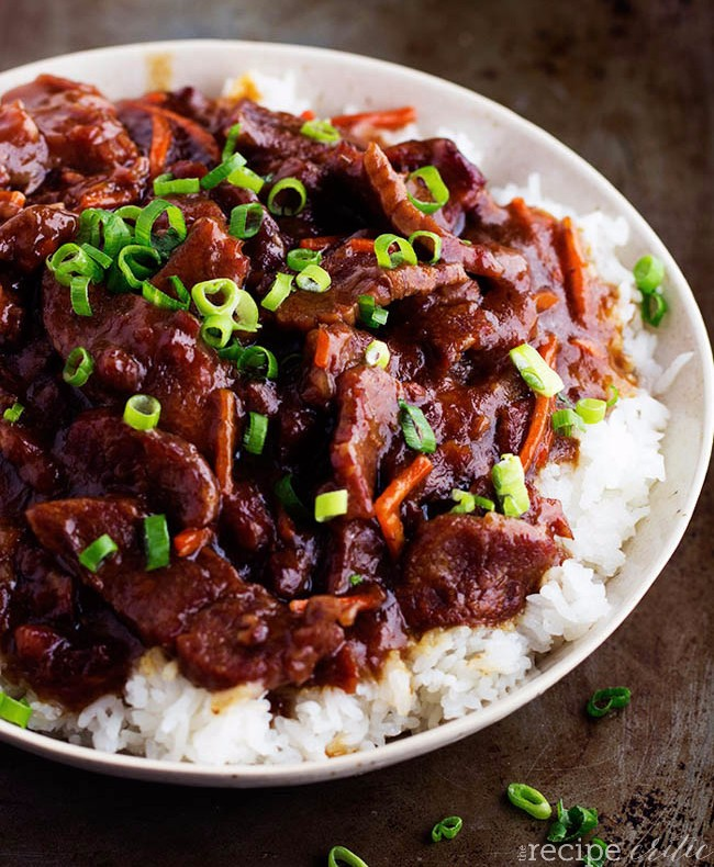 Crockpot Mongolian Beef photo