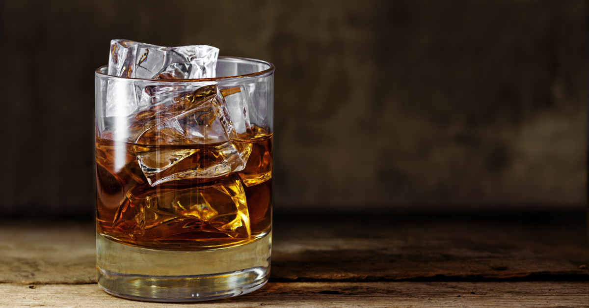 There Is Bacteria In Your Ice And Only Whiskey Can Kill It photo
