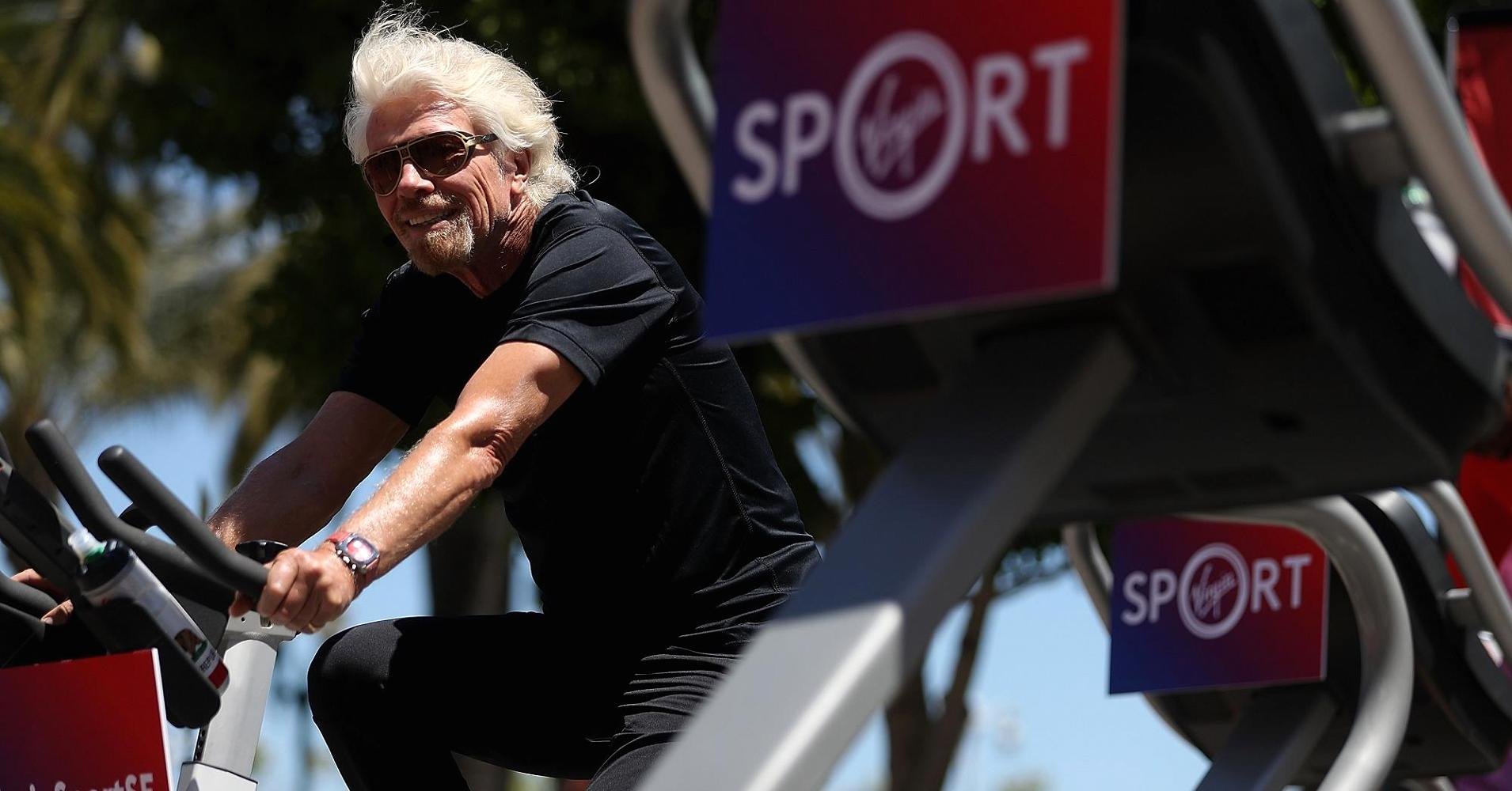 How Richard Branson Is Keeping Up With His Goal To 'get Unbelievably Fit' This Year photo