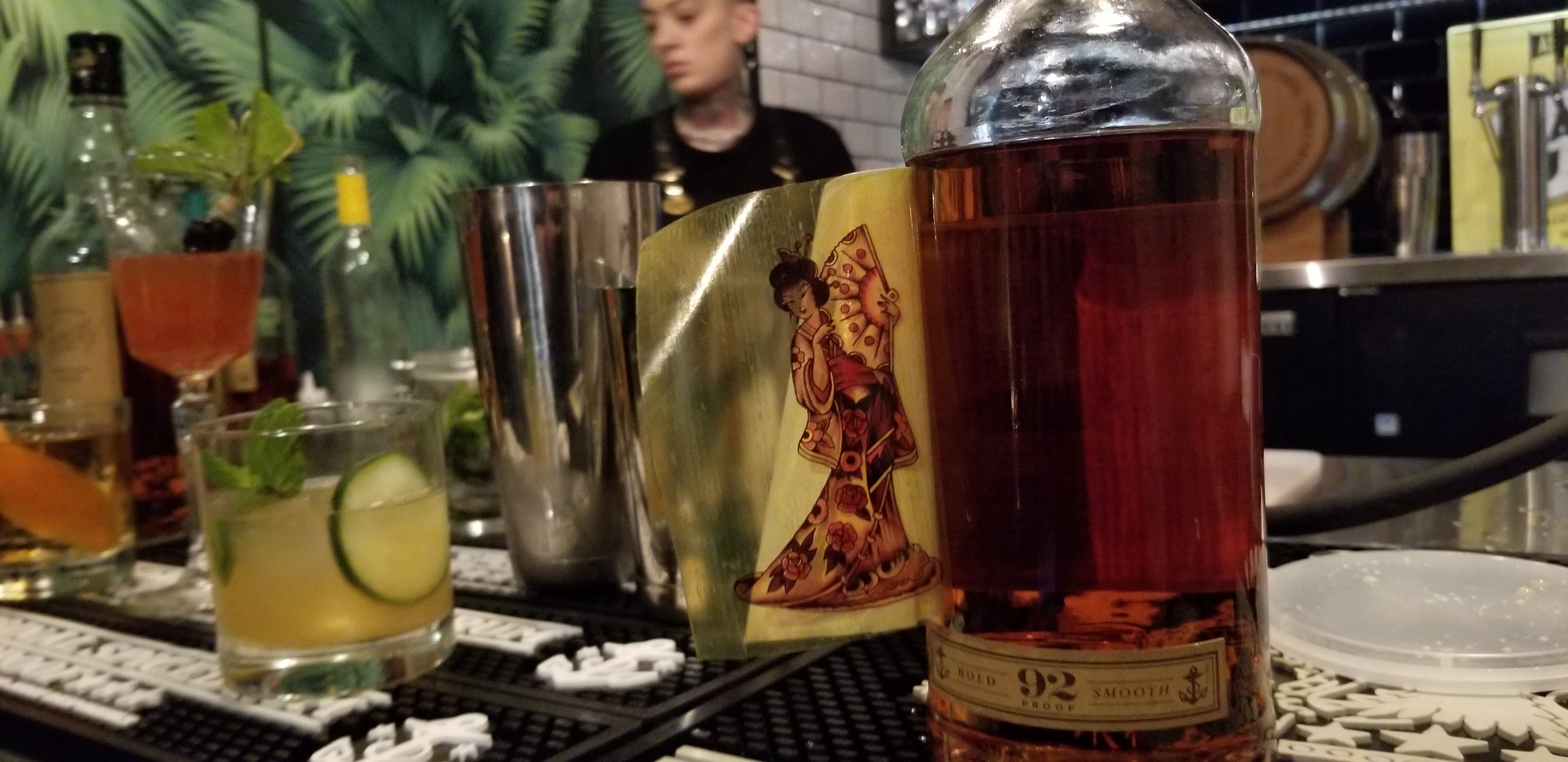 There's A Secret Sticker On Every Label Of Sailor Jerry's Rum photo
