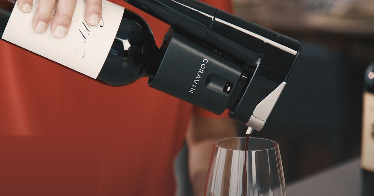 This Gadget Lets You Pour Wine Without Uncorking The Bottle photo
