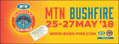 Mtn Bushfire Makes Top Festival List photo