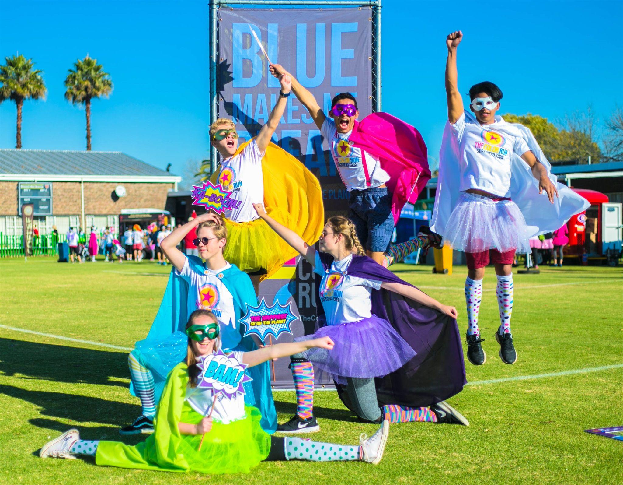 Color Run South Africa's Final Superhero Tour Kicks Off In Stellenbosch photo