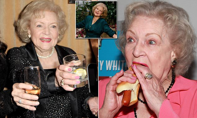 Betty White, 95, Credits Hot Dogs And Vodka For Her Old Age photo