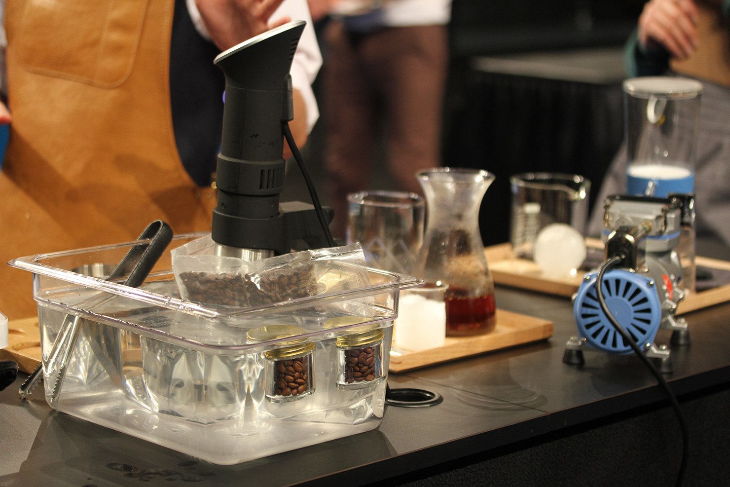 Sous Vide Coffee Served At Michelin-starred Band Of Bohemia In Chicago photo