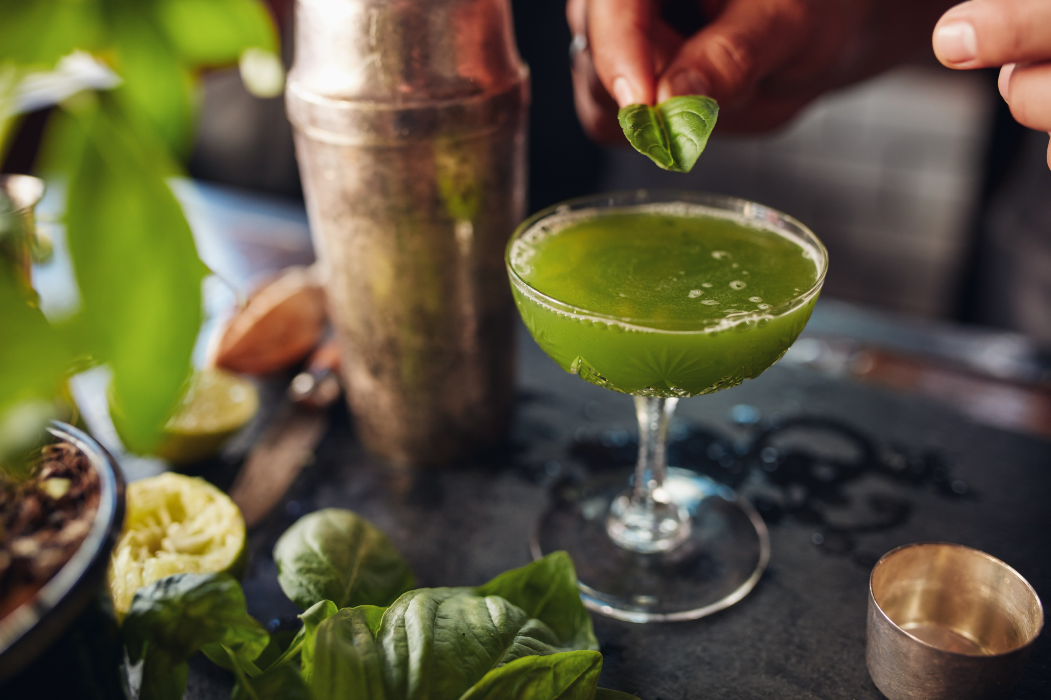 Seven Hip Cocktail Ingredients You'll See In 2018 photo