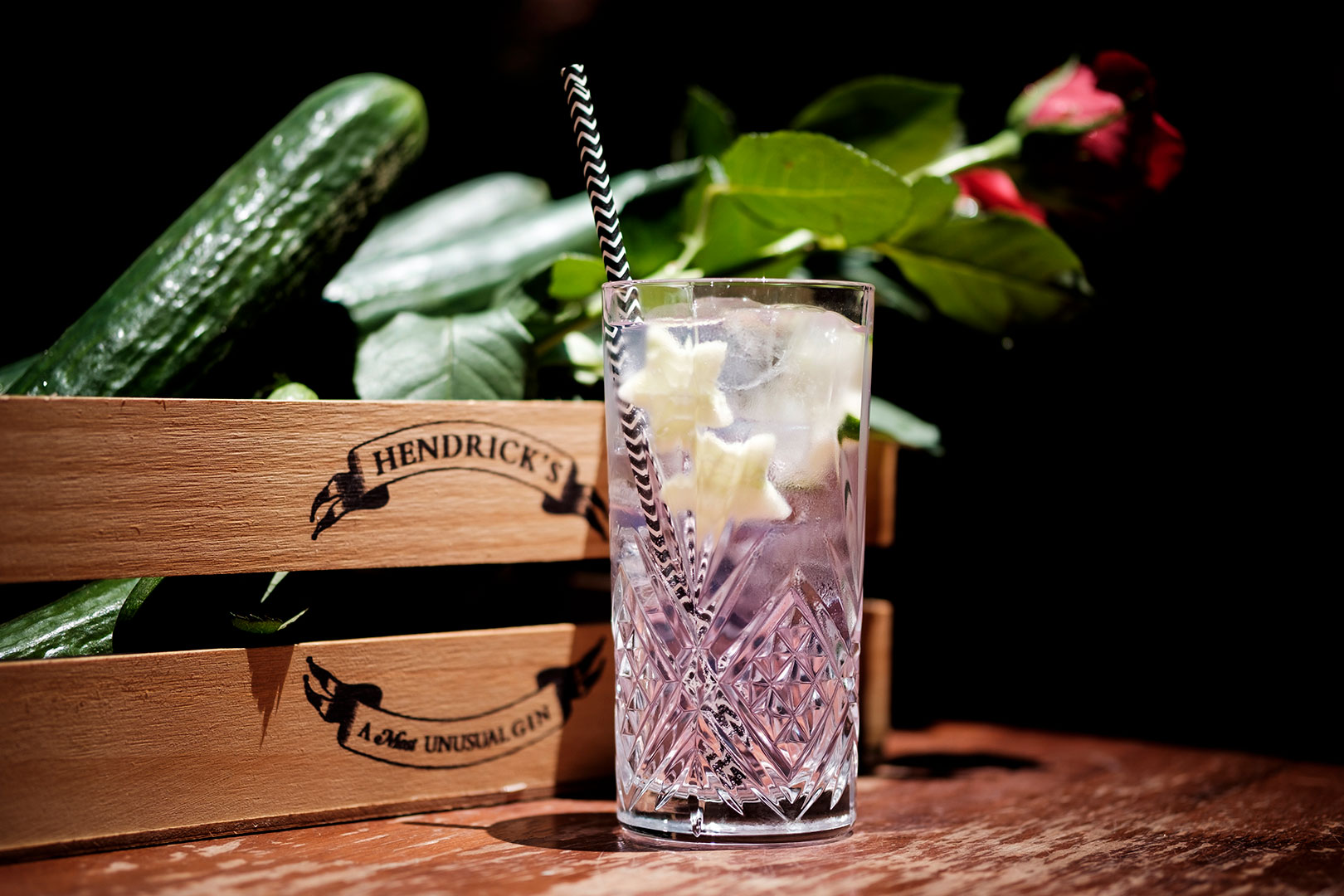 #thirstythursday Hendrick's Gin And Tonic Rose And Cucumber photo
