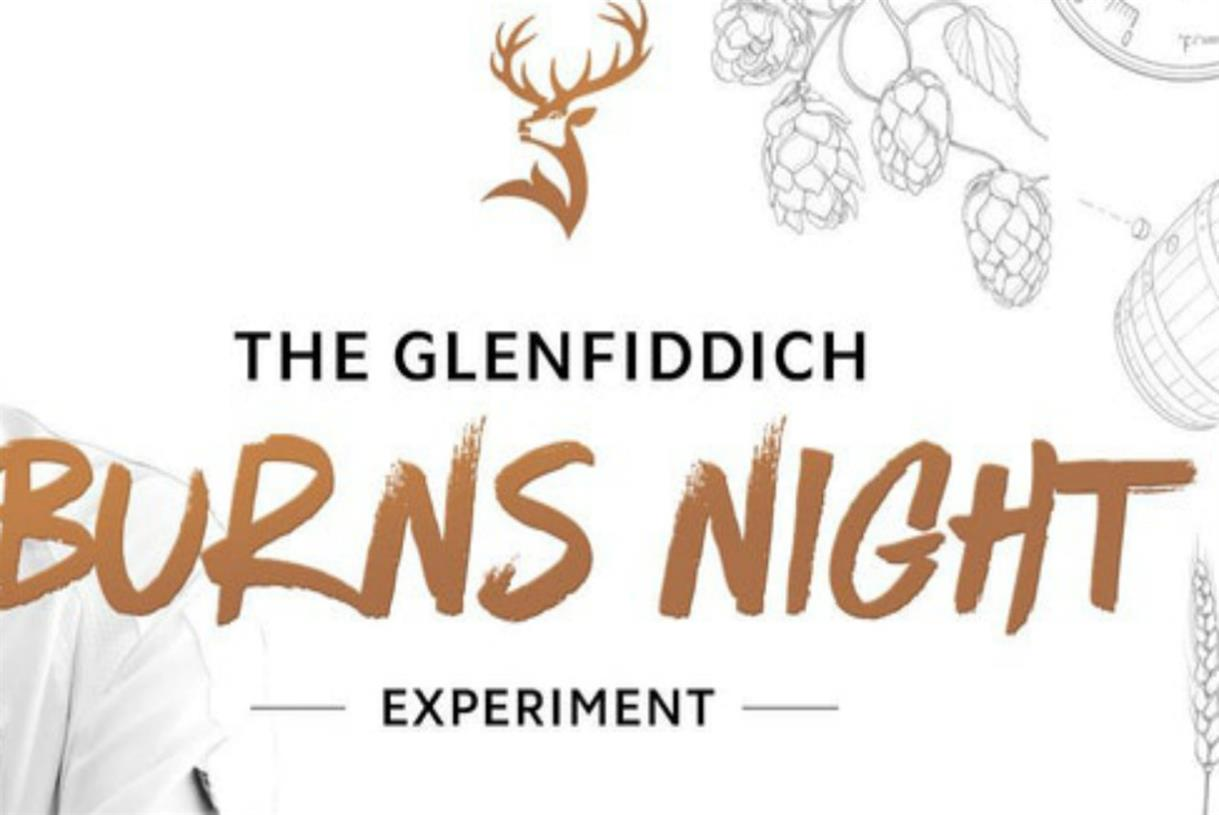 Glenfiddich To Stage Burns Night 'experiment' photo