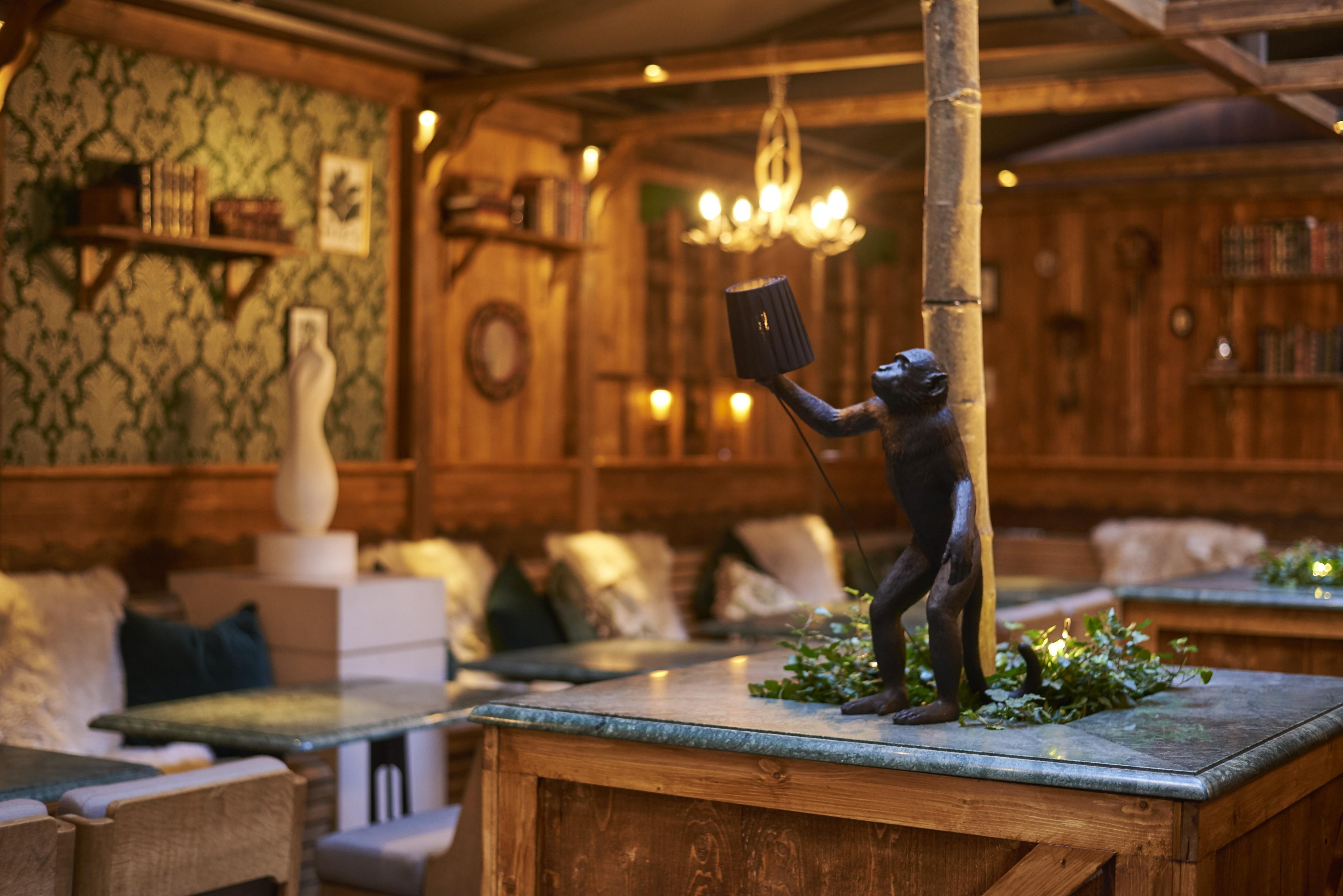 Snuggle Up At Rosewood London?s Monkey 47 Winter Terrace photo