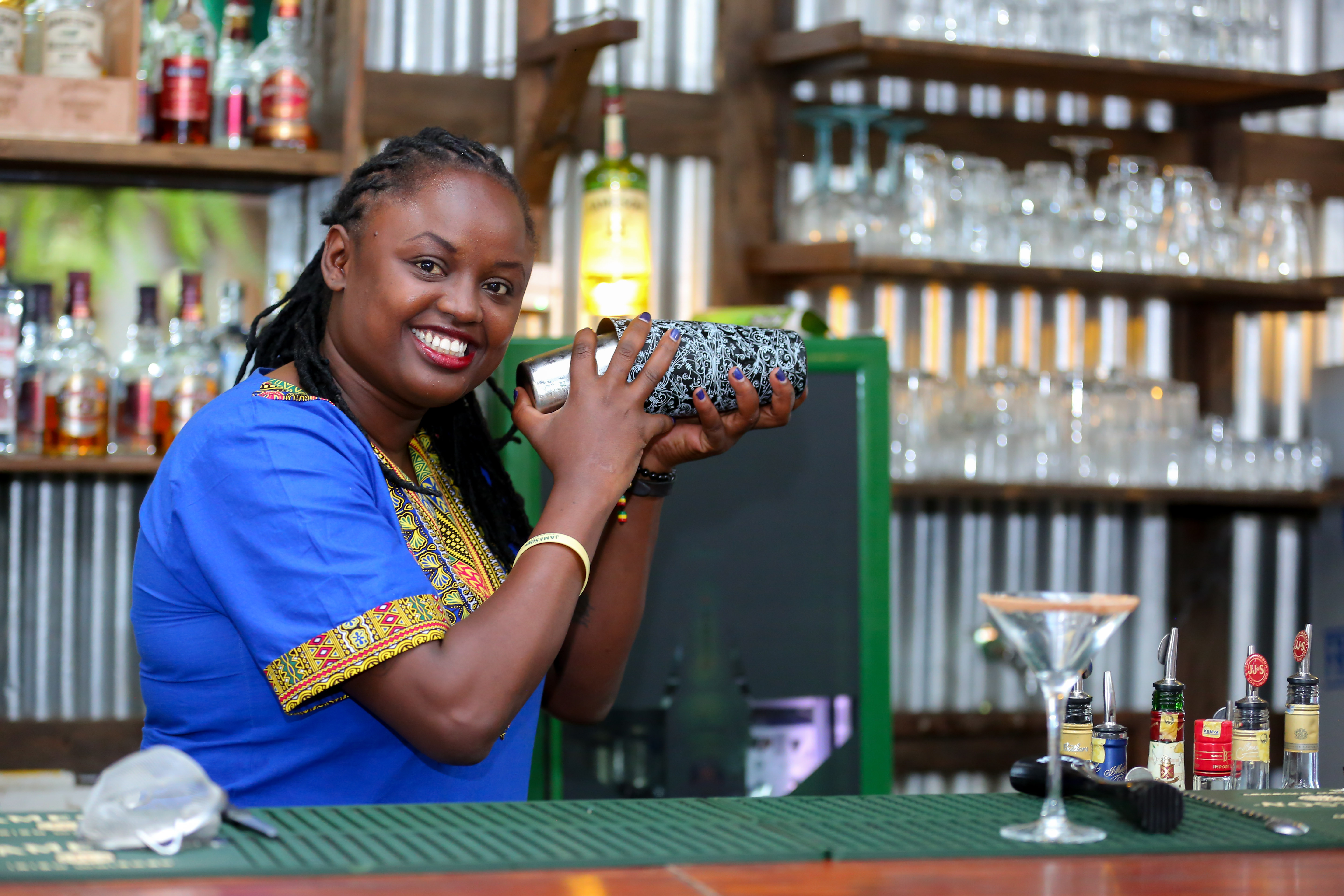 Bartender Yvonne Wairimu At The Top Of Her Game And Loving It photo