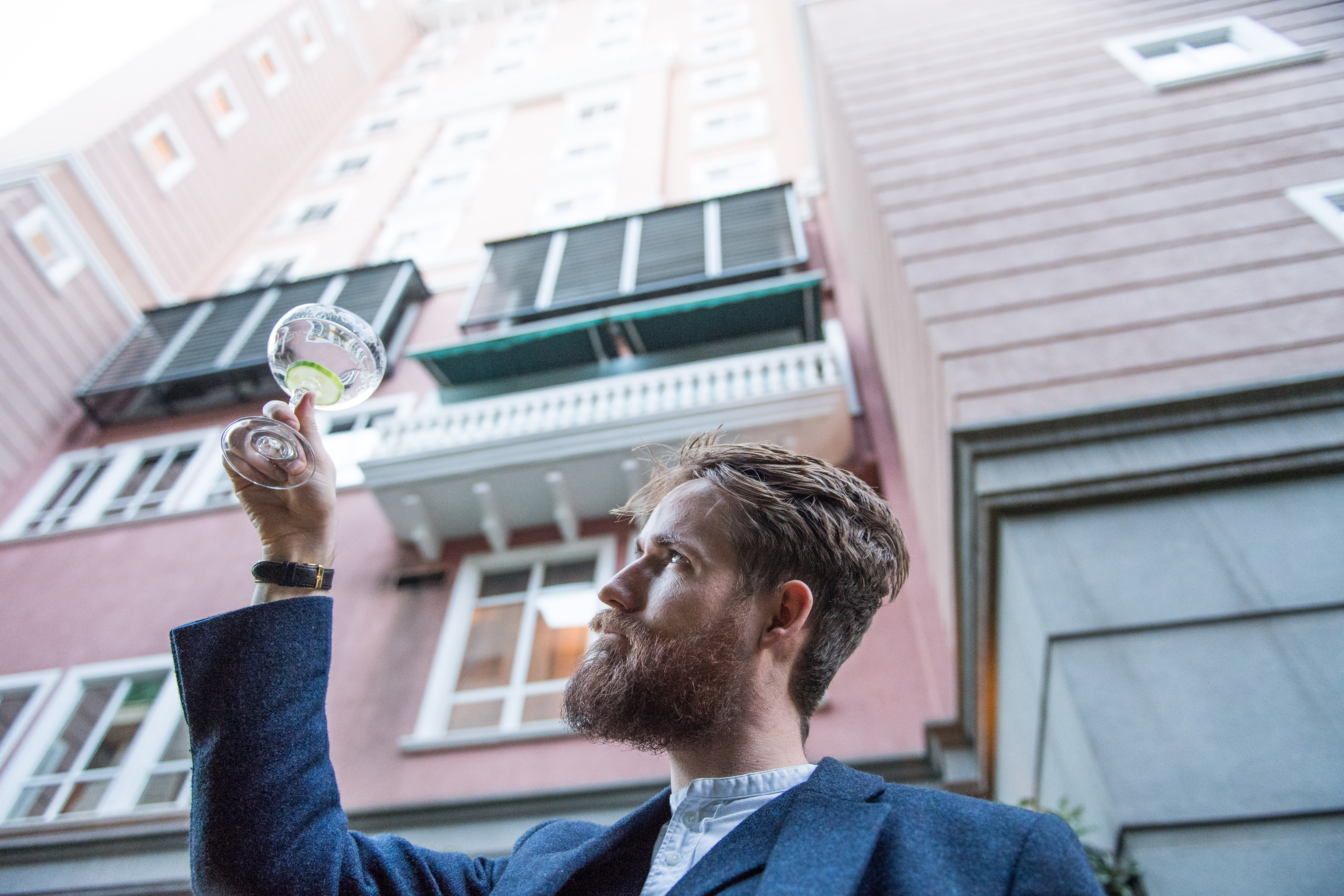 #tastemakers: Curing The Mundane With Hendrick's Gin Global Ambassador Ally Martin photo