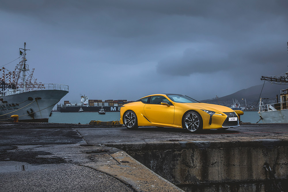 Master And Commander: The New Lexus Lc 500 photo