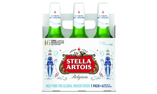 Stella Artois Uses Limited-edition Packs To Run Clean Water Campaign photo