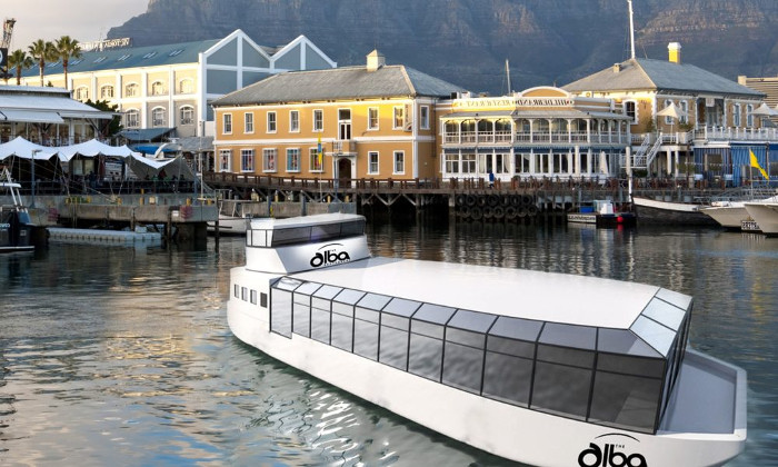 You Can Now Enjoy Floating High Tea On A Barge In Cape Town! photo