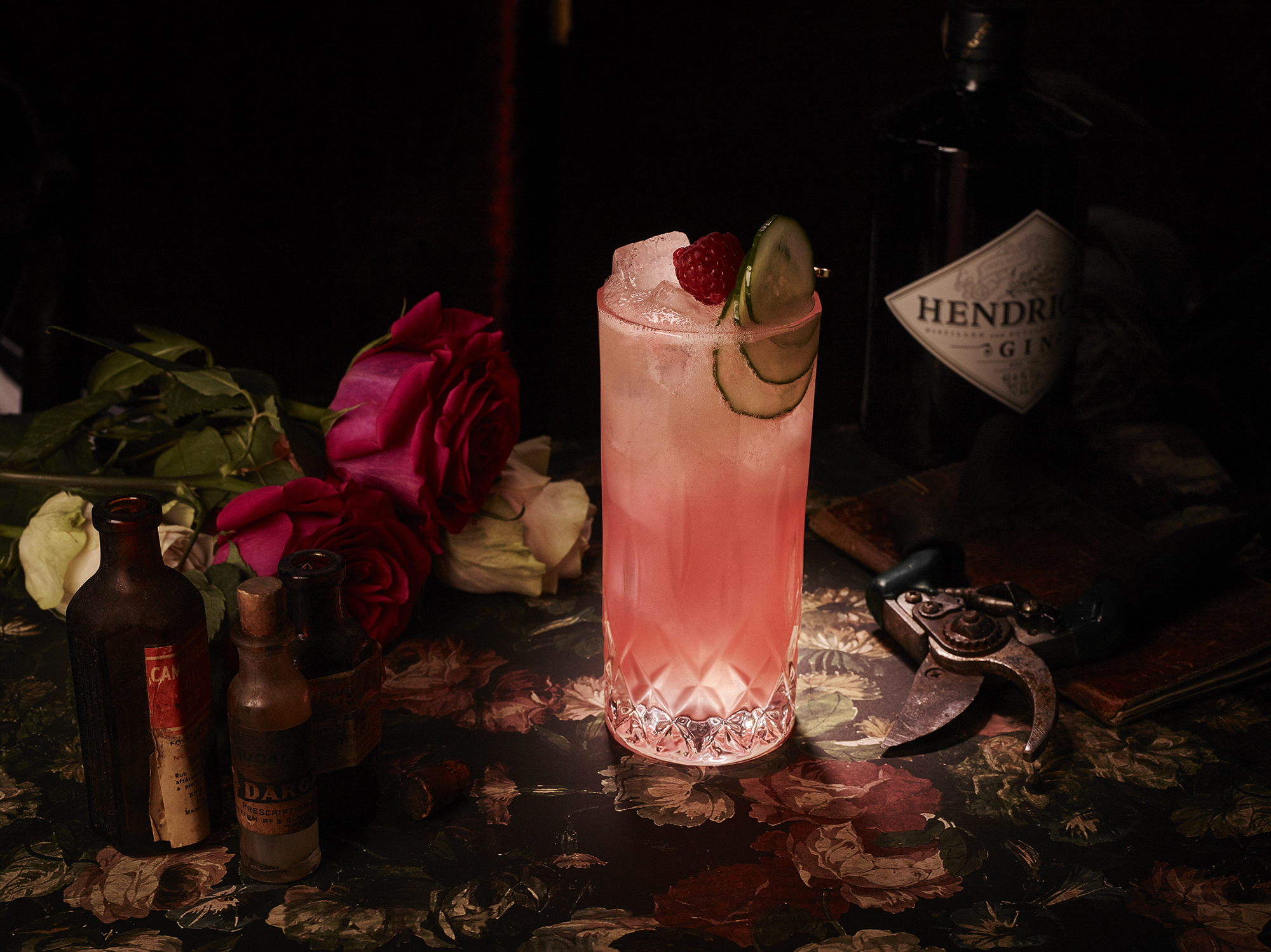 The Perfect Gin Cocktail Just In Time For #valentinesday photo