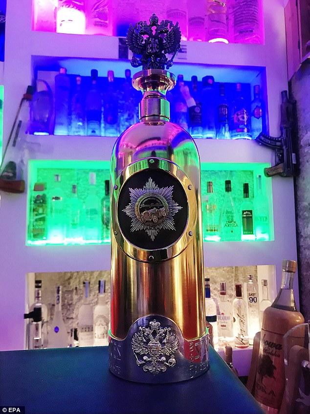World's Most Expensive Vodka Stolen photo