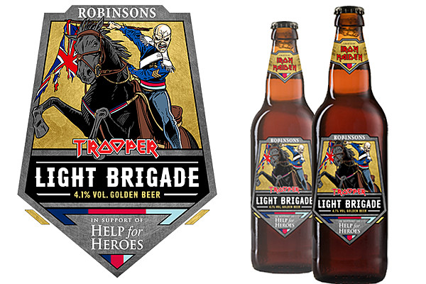 Iron Maiden Announce New 'light Brigade' Beer photo