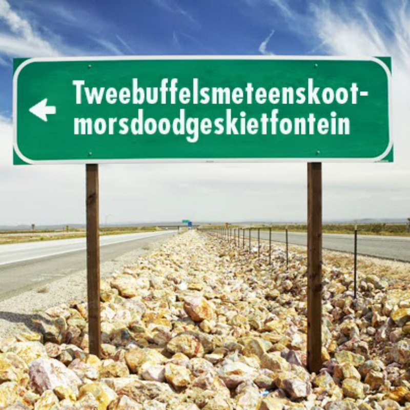 Tweebuffelsmeteenskootmorsdoodgeskietfontein How Stuffing Our Faces Tapped Cape Town Dry