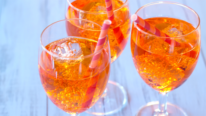 There Is An Aperol Spritz Pop-up Today In The Cbd & It's Free photo