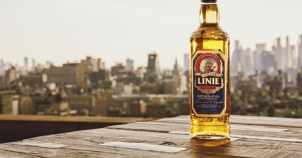 Linie's Master Blender On The Challenges Of Aging Aquavit At Sea photo