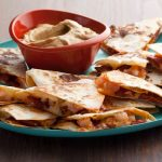 Chorizo and Shrimp Quesadillas with Smoky Guacamole photo