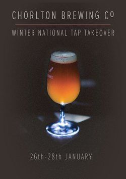 National Tap Takover For Chorlton Brewing Co: January 26 To 28 photo