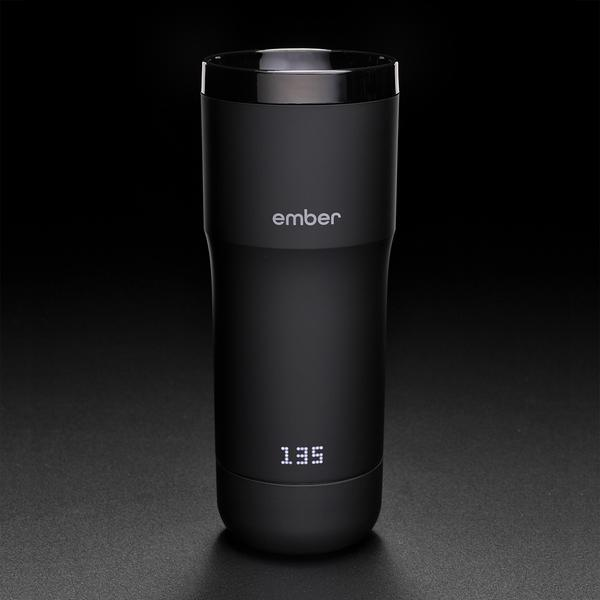 The Ember Ceramic Mug makes sure your coffee never, ever gets cold photo