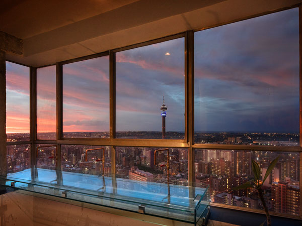 Prepare For Sundowners On The 51st Floor At The Iconic Ponte Tower In Joburg photo