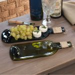 Used wine bottles get new lease of life as plates photo
