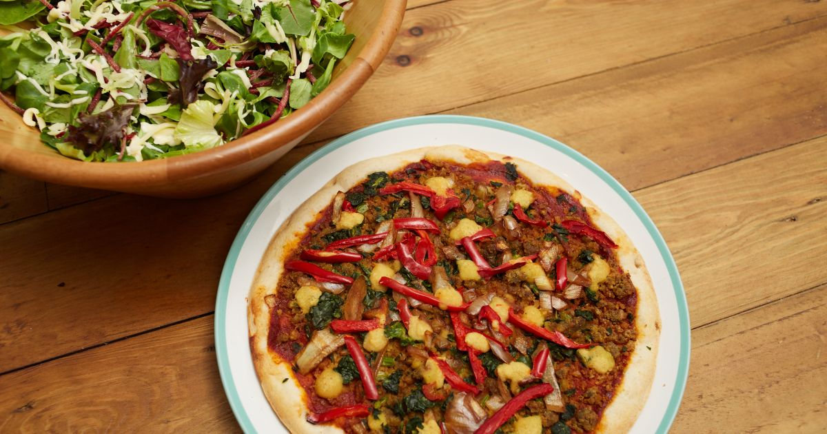 Goodfella's Is Launching The Uk's First Ever Mainstream Vegan Frozen Pizza photo