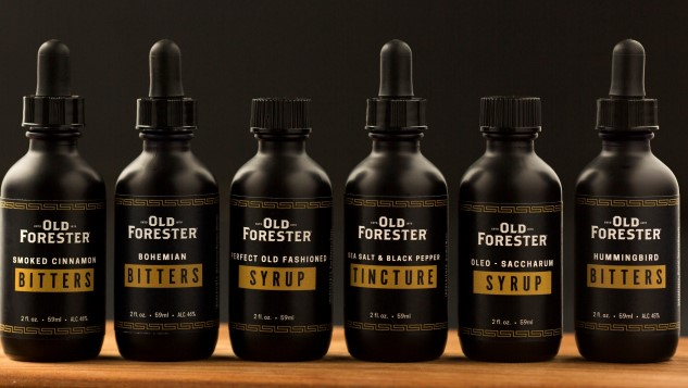 "Old Forester Launches ""cocktail Provisions"" Line Of Bitters, Syrups And Tinctures photo"
