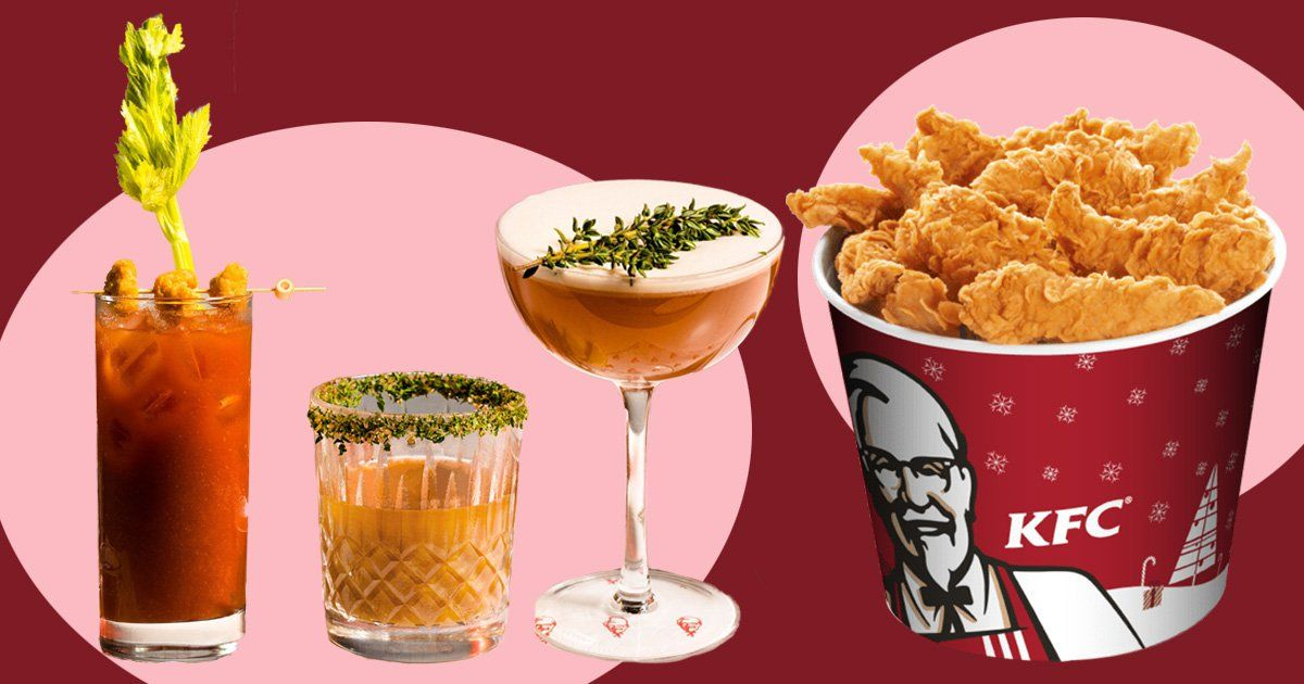 KFC Launches A Questionable Range Of Gravy-infused Cocktails photo