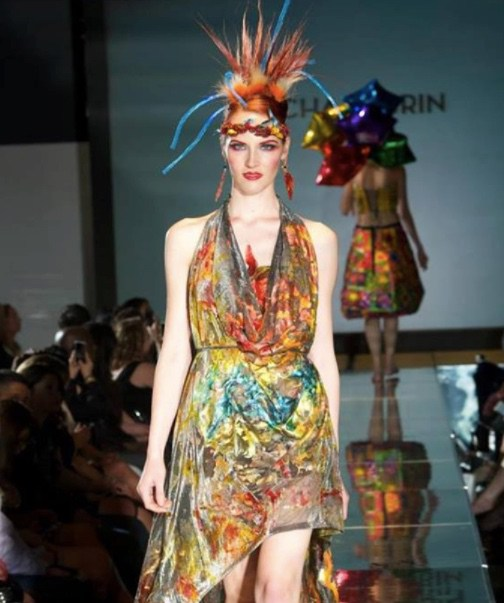 This fashion brand makes clothing made from kombucha tea photo