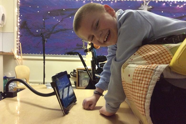 Simpson's Malt's Trust Helps Purchase Equipment For Berwick School photo