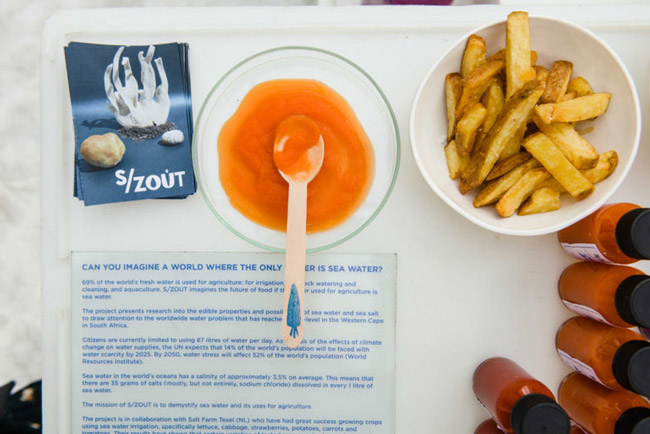 'waterless Dinners' For Drought-stricken Cape Town photo