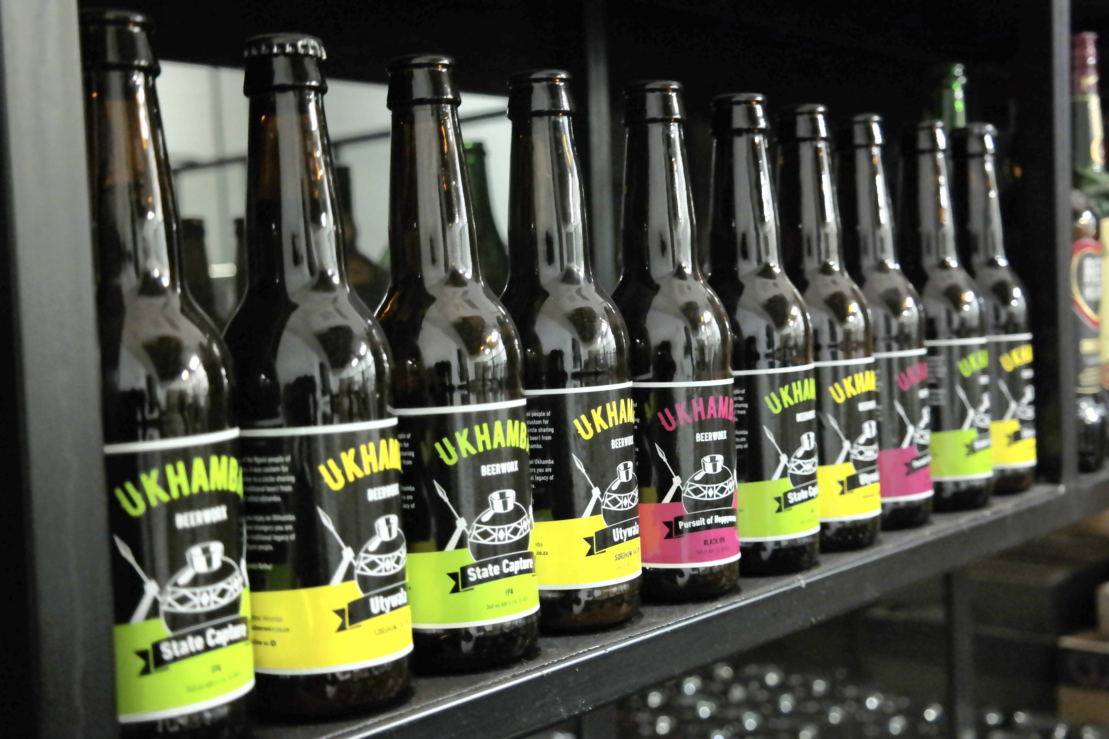 A Craft Beer Brewed With Traditional African Flavour photo