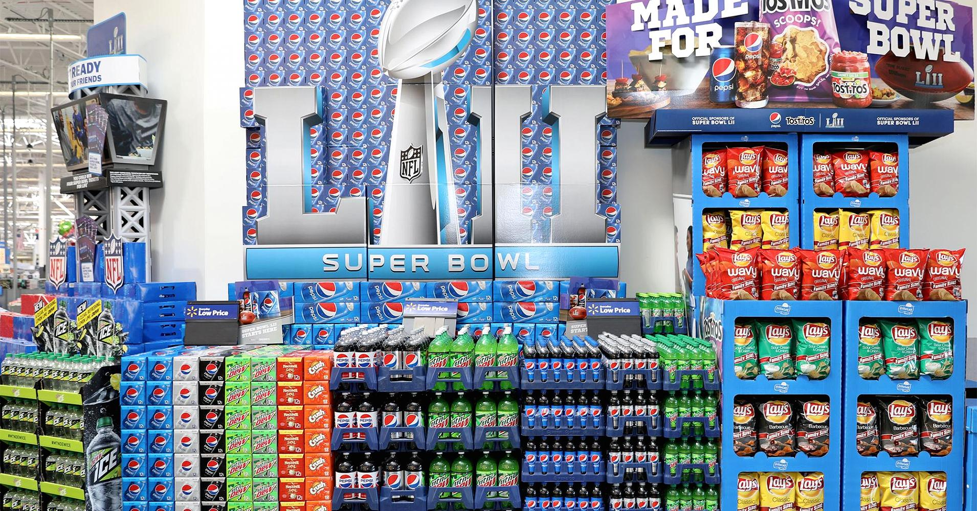 Pepsico Has Been Training For The Super Bowl For Six Months photo