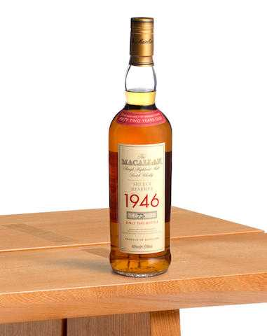 Auction Preview: Whiskey Sale At Bonhams, Edinburgh, Mar 7 photo