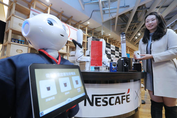 Nestle Serves Up Robots In Japan To Woo Chinese Customers- Nikkei Asian Review photo
