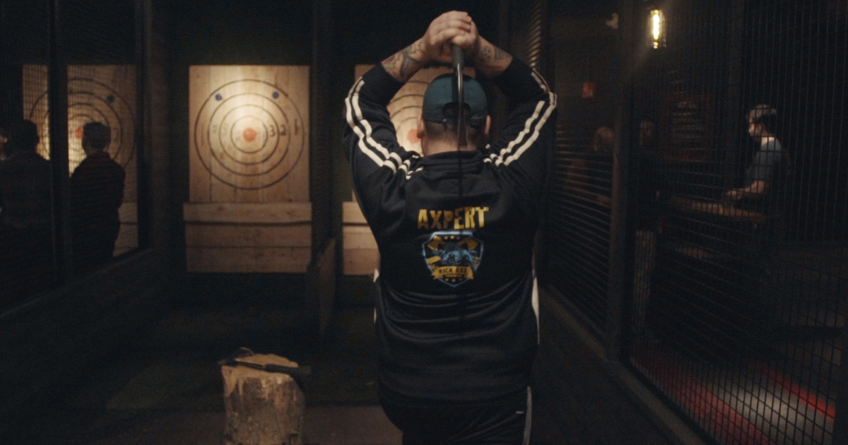 Grab A Beer And Throw An Axe At This Indoor Axe-throwing Range photo