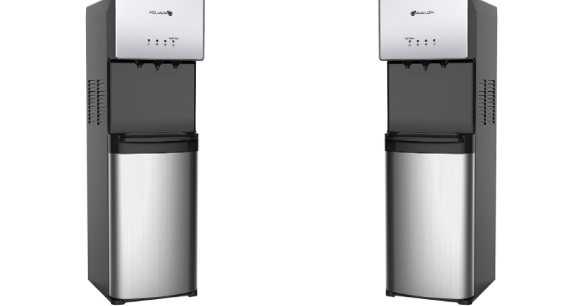 Kick Your Plastic Bottle Habit And Get This Self-cleaning Water Cooler For 34% Off photo