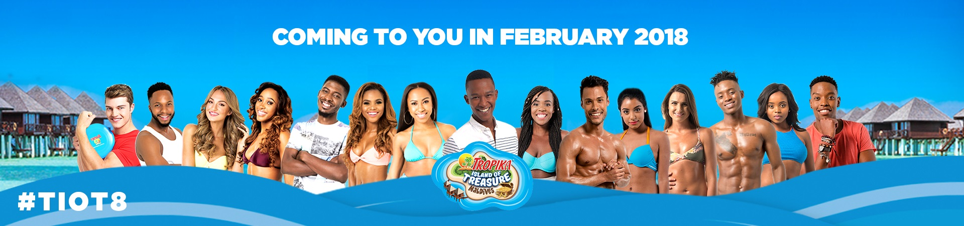 Contestants Revealed For Tropika Island Of Treasure Maldives photo