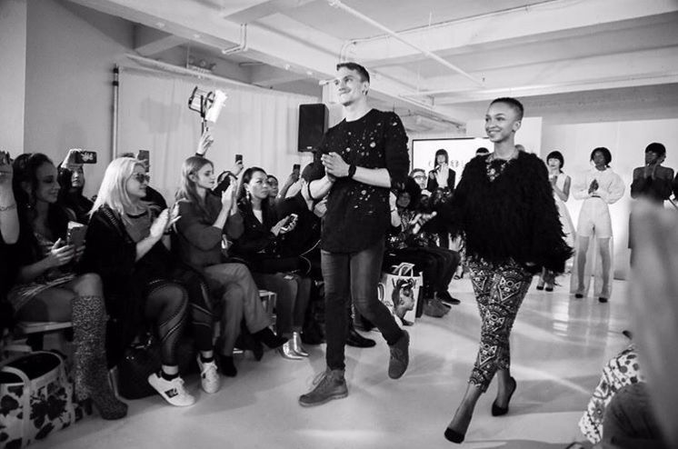 Nandi Madida Nails Her New York Fashion Week Debut photo
