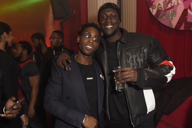Stormzy And Dua Lipa Celebrate Their Brits Wins At Star-studded Afterparty photo