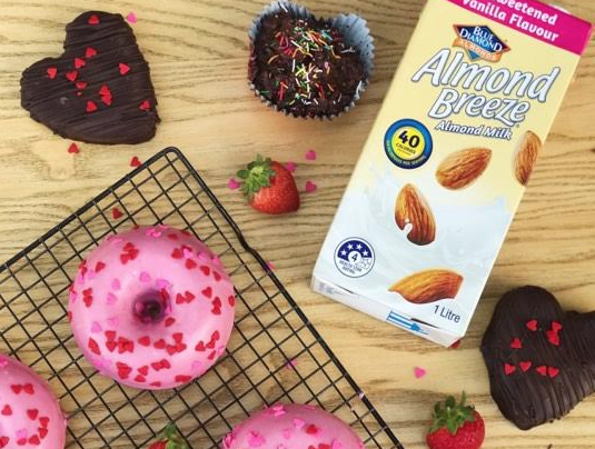 Almond Breeze Giving Free Valentine's Day Doughnuts In Sydney photo