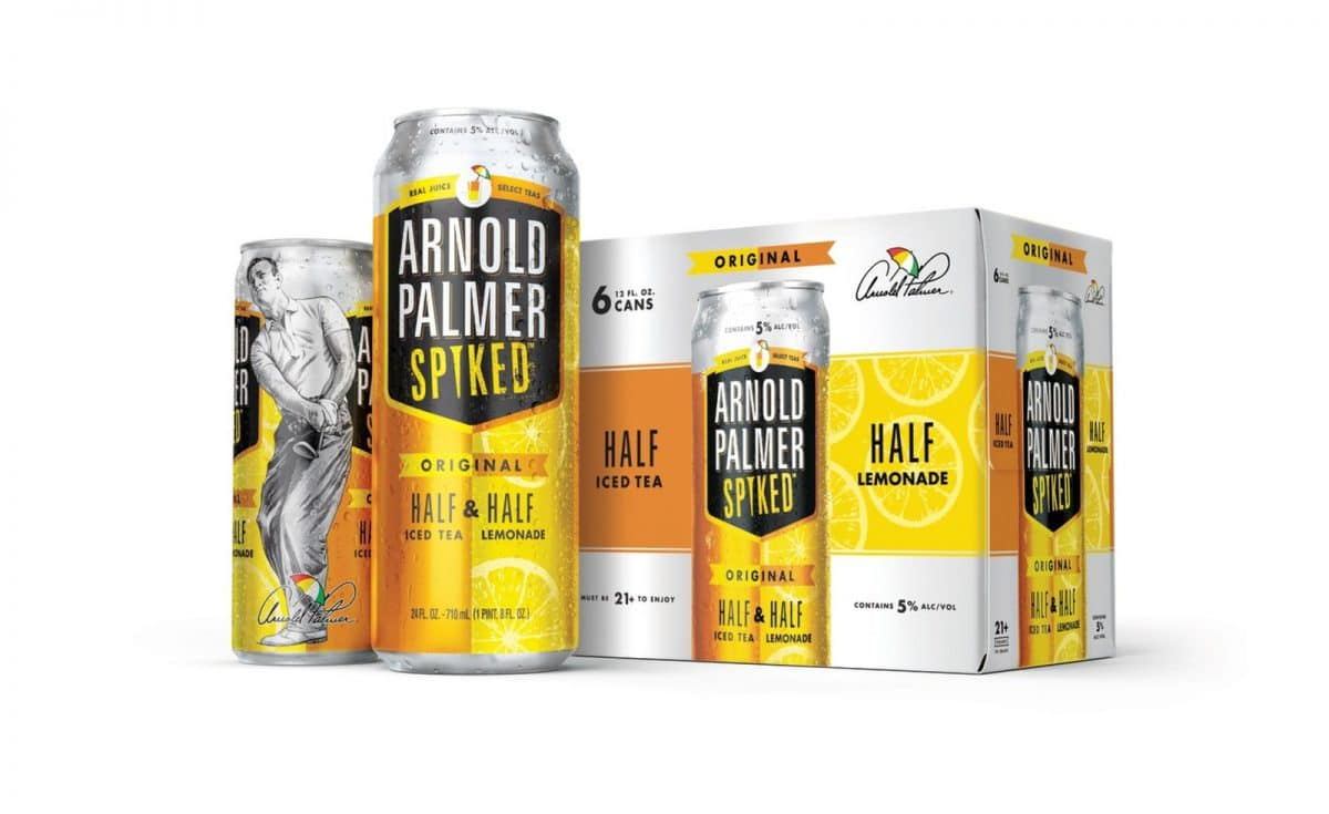 Millercoors Releases Arnold Palmer Spiked Half & Half photo