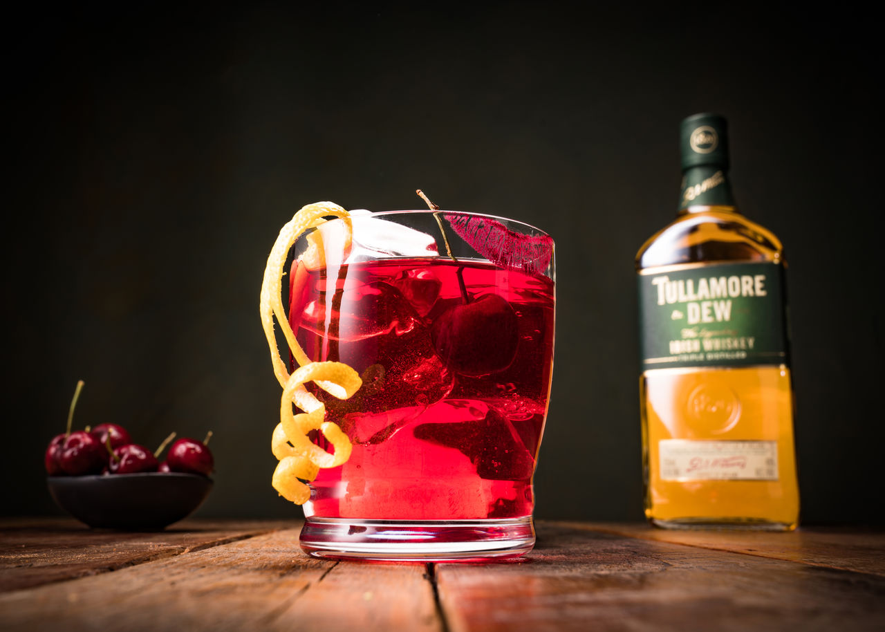 #valentinesday Whiskey Cocktail photo