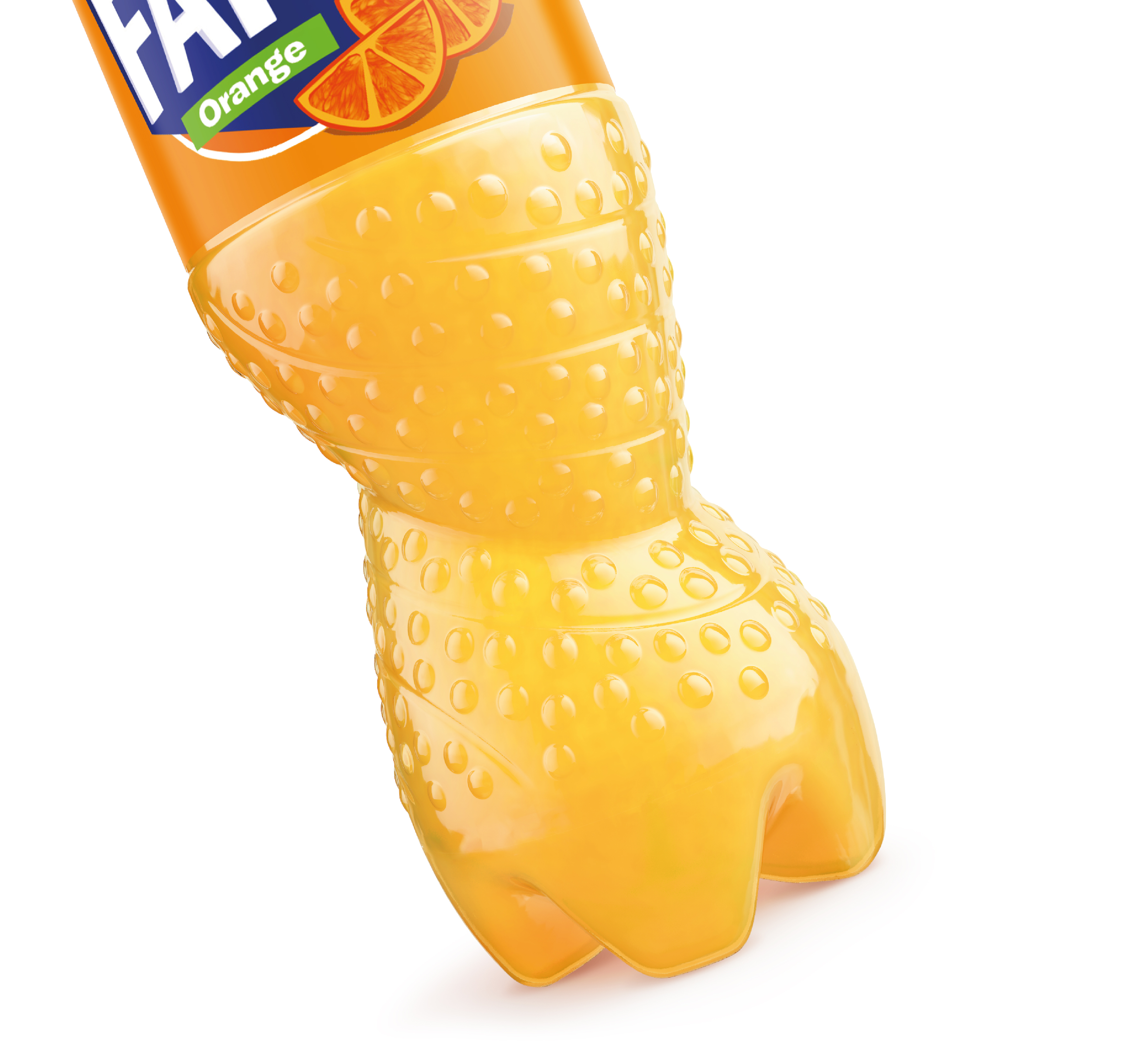 Fanta Reborn In New Spiral Pet Bottle photo